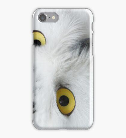 Snowy Owl Eyes iPhone Case/Skin