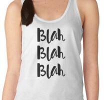 Blah Blah Blah Women's Tank Top