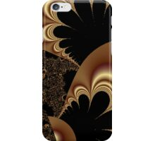 Shimmering Gold Parachutes Abstract iPhone Case/Skin