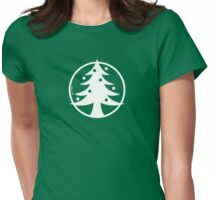 Christmas Tree Avatar Womens Fitted T-Shirt
