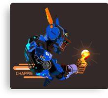 I am Chappie Canvas Print