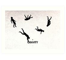 99 Steps of Progress - Gravity Art Print
