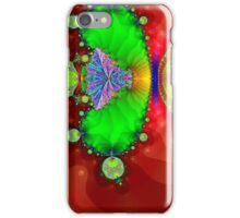 Red and Green Fractal iPhone Case/Skin