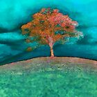 A solitary tree&#x27;... by Valerie Anne Kelly