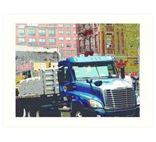 Bravo Truck, Harlem Art Print