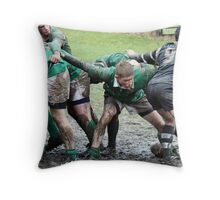Wharfedale rugby Throw Pillow