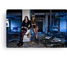 Where there's muck, there's brass Canvas Print