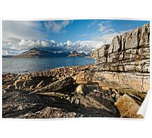 Loch Scavaig and the Cuillin Poster