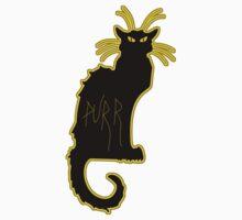 black magic halloween kitty cat purr  One Piece - Long Sleeve