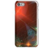 Rainbow of Micro Spirals in Red Sun iPhone Case/Skin