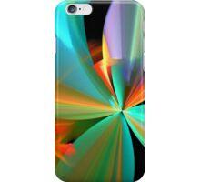 Rainbow of Digital Flower Petals iPhone Case/Skin