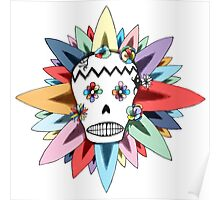 The Day of the Dead Colours T Shirt Poster