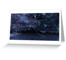 Beyond the Blue Hills Greeting Card