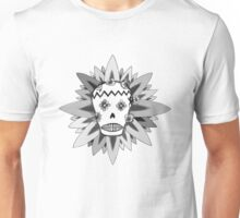 The Day of the Dead Greyscale Unisex T-Shirt