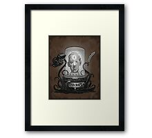 Acursed Inspiration Framed Print
