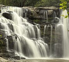 Waterfall in Paradise HDR by Peter Edwards