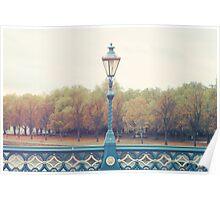 Light over the Embankment Poster