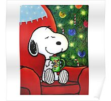 snoopy coffee Poster