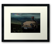 """In the Year 2525"" Framed Print"