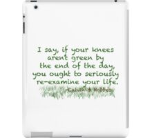Calvin & Hobbes Life Advice iPad Case/Skin