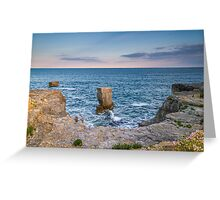 Portland Bill Rock Greeting Card