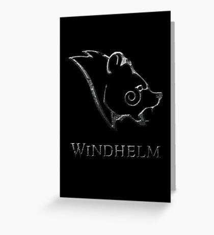 Windhelm Greeting Card