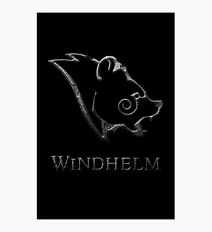 Windhelm Photographic Print