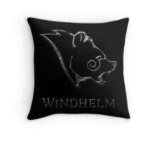 Windhelm Throw Pillow