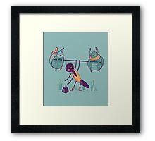 Antilla the strong Framed Print