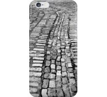 Cobblestone lines iPhone Case/Skin