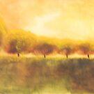 golden season back in the park  * special order prints: tokikoandersonart@gmail.com by TokikoAnderson