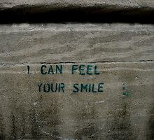 I can feel your smile. by stelhope