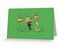 Ant strong man Greeting Card