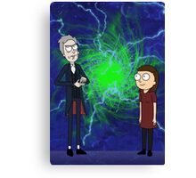 Doctor and Clara Canvas Print