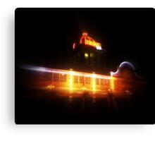 The Kursaal at night Canvas Print