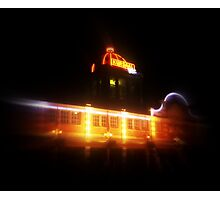 The Kursaal at night Photographic Print