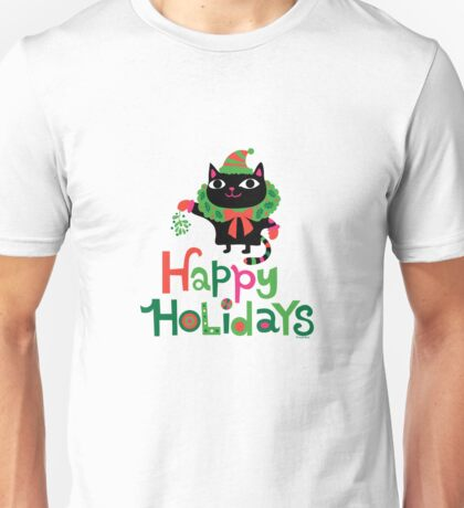 Happy Catiday Holiday   Unisex T-Shirt
