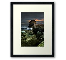 Pulpit Rock, Portland Framed Print