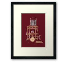 Bacon maker Framed Print