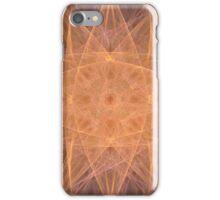 Pastel Orange Starburst iPhone Case/Skin