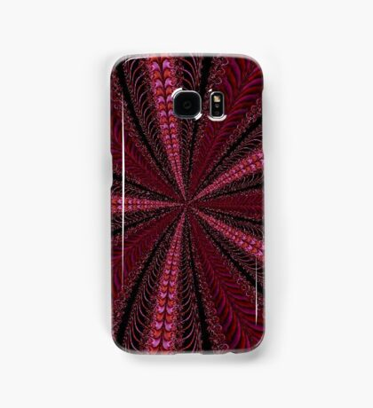 Never Ending Red Ribbon Samsung Galaxy Case/Skin