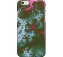 Metallic Green With Pink iPhone Case/Skin