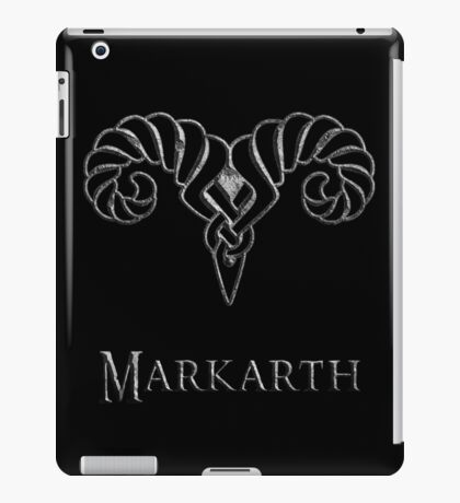 Markarth iPad Case/Skin