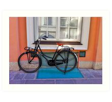 Commuter Bike - Italy Art Print