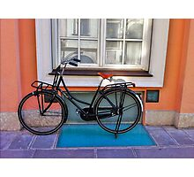 Commuter Bike - Italy Photographic Print