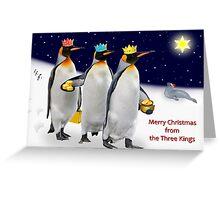 The Three Kings Greeting Card