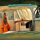 Cabin light by Dave  Higgins