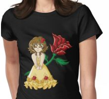 Fairy Tale Series: Beauty Womens Fitted T-Shirt