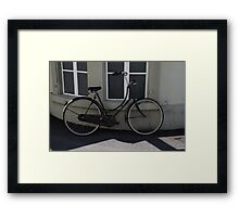 Commuter Bike Italy -2 Framed Print