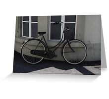 Commuter Bike Italy -2 Greeting Card